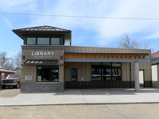 The Jeff Reichelt Memorial Library in Big Sandy opened