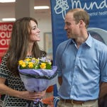 William and Kate participated in a roundtable discussion with volunteers from the charity Mind about ways to remove the stigma attached to mental health issues.