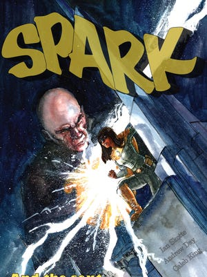 """The comic book """"Spark"""" warns teens about the dangers of sexting."""