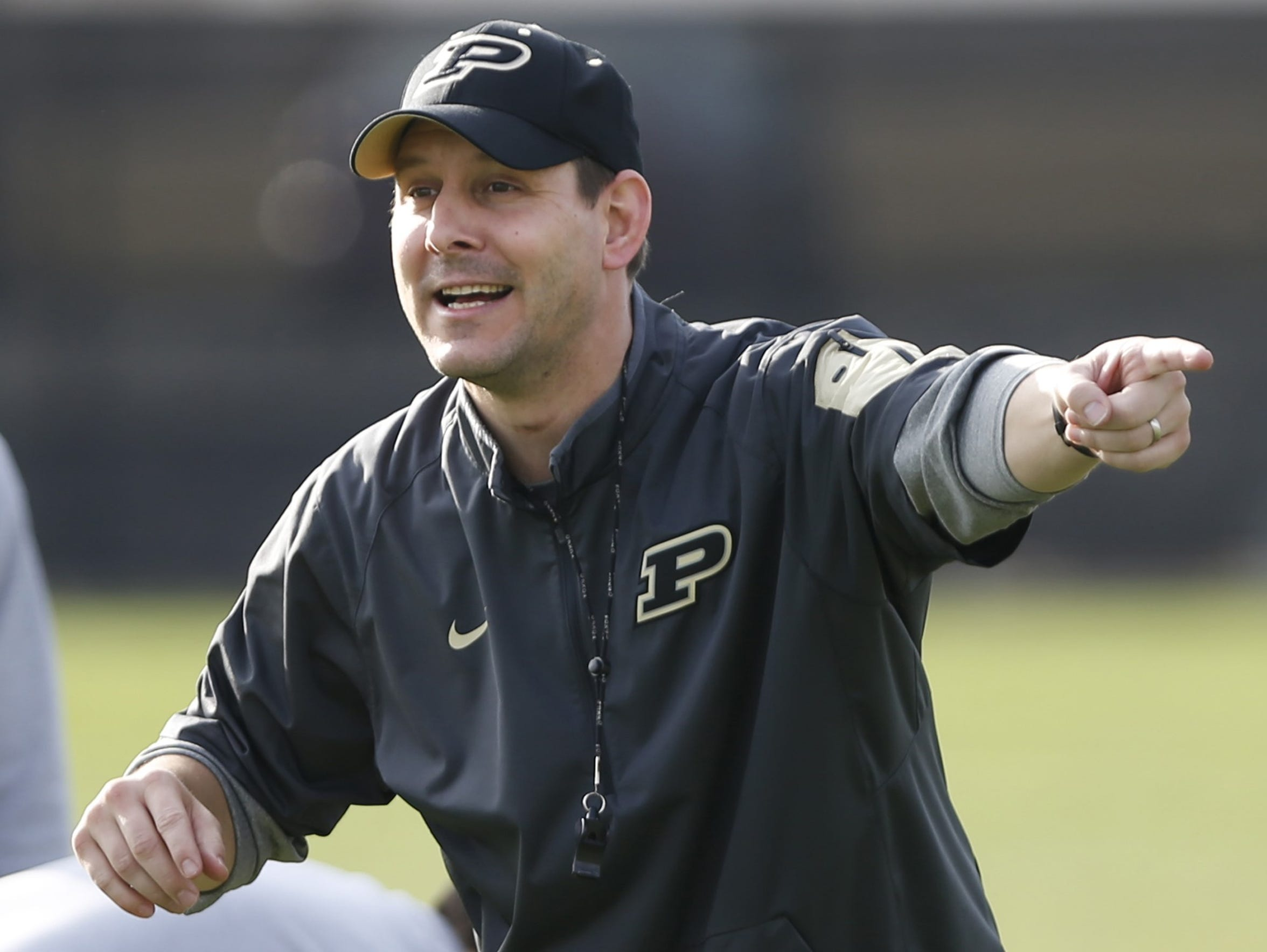 Tim Lester was the quarterbacks coach at Purdue during