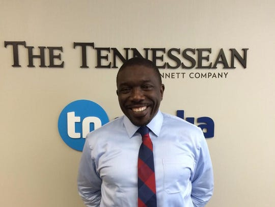 Metro Schools Director Shawn Joseph met with The Tennessean
