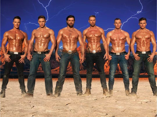 The Australian male review, Thunder from Down Under, will come to the Plaza theater.