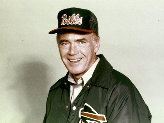 Chuck Knox had a career record of 186-147-1, ranking No. 10 on NFL's career win list.