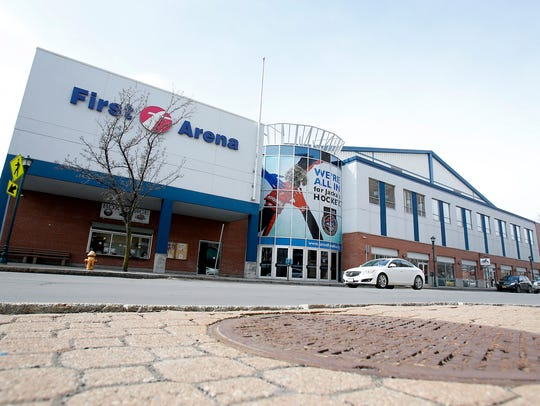 First Arena will host its second professional hockey franchise starting in the fall of 2018.