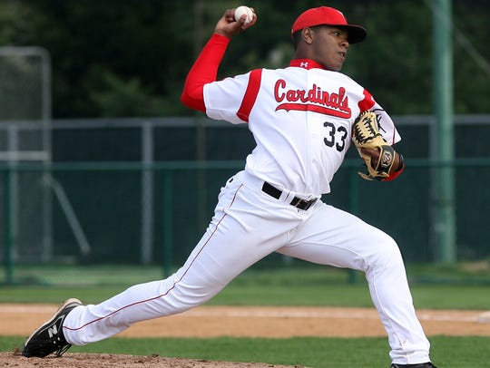 Perci Garner was called up by the Indians on Wednesday
