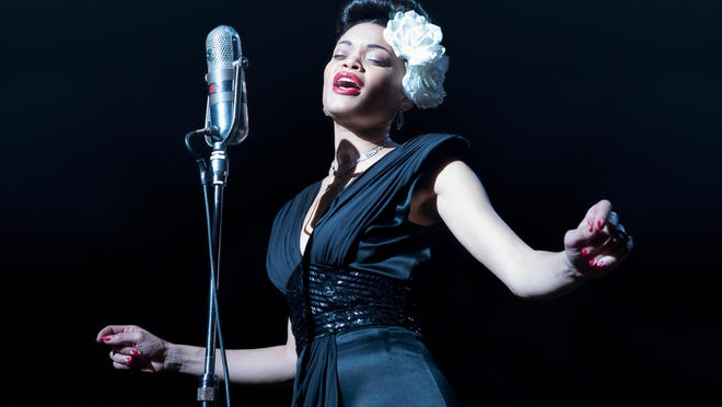 """Grammy-nominated singer Andra Day makes her acting debut in """"The United States vs. Billie Holiday."""""""