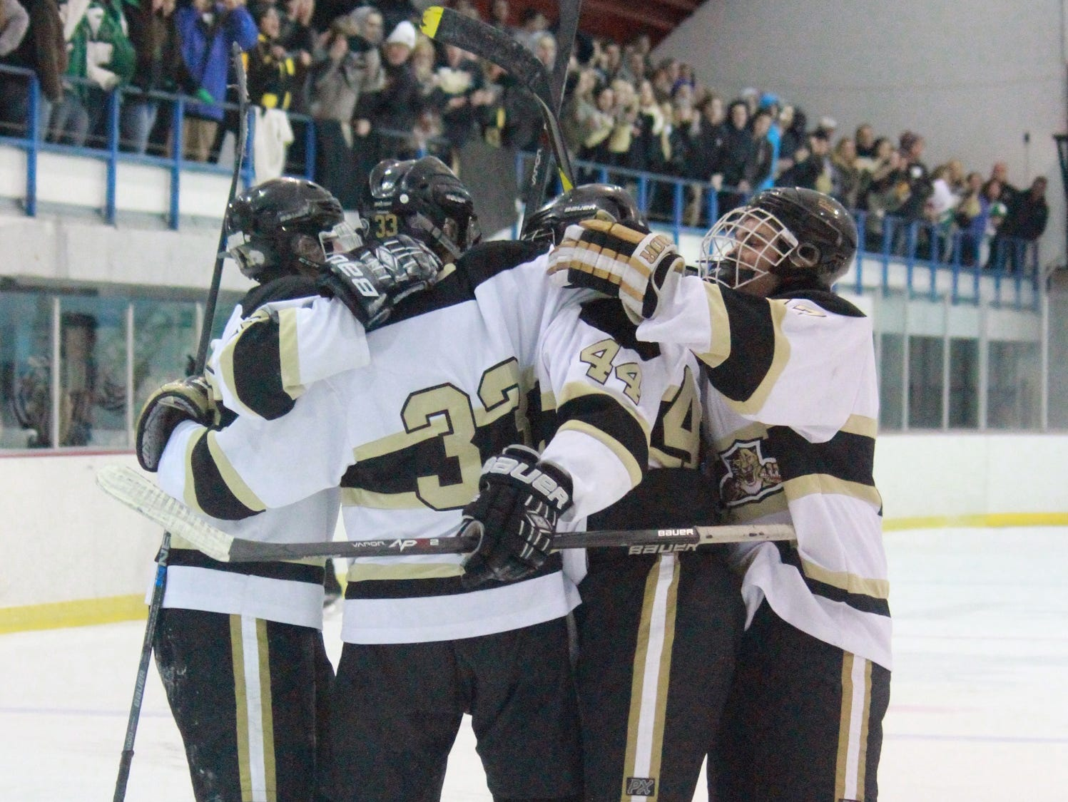 Point Boro hockey is prepped to compete in 2015-16.