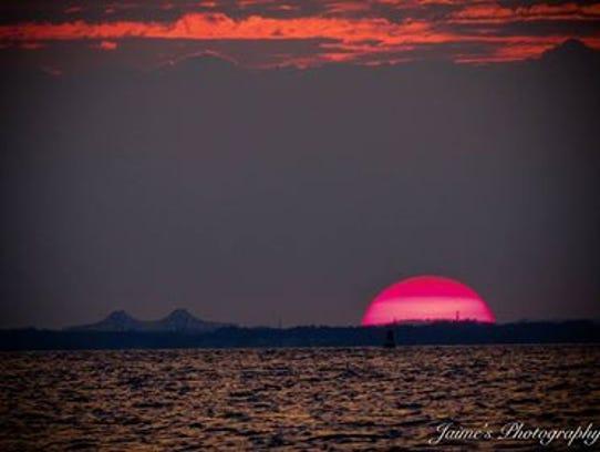Sunset, Atlantic Highlands