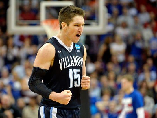 Villanova Wildcats guard Ryan Arcidiacono has amped