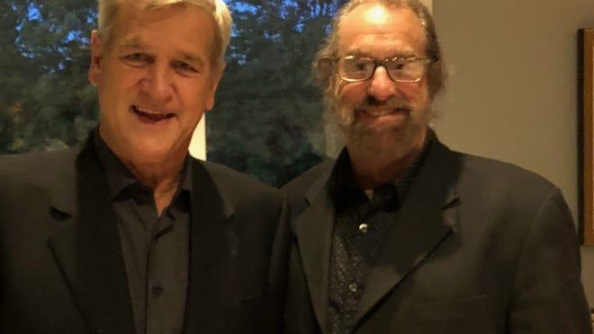 Bobby Orr, left, and Mark Snyder.    Photo by Mark Snyder
