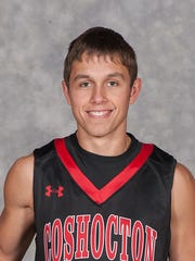 Coshocton senior Sam Magness was named honorable mention All-Ohio in Division III by the Associated Press.