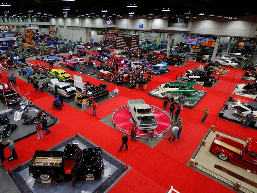 The annual KOI Cavalcade of Customs Car Show brought