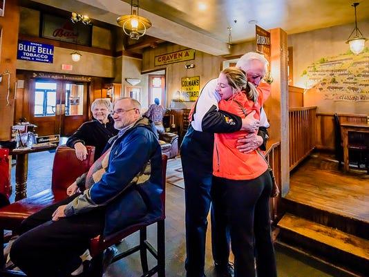 former MSU basketball player, Popular bartender, retires