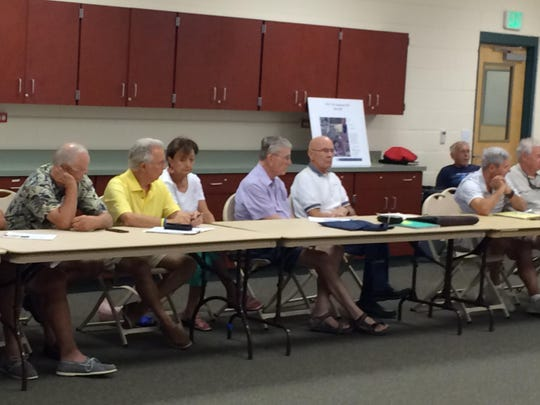 More than 60- Estero residents turned out Monday, July 13 for a Council of Community Leaders transportation committee meeting, and hear a Hertz executive say that the company will begin moving to its new Estero world headquarters building on Halloween weekend.
