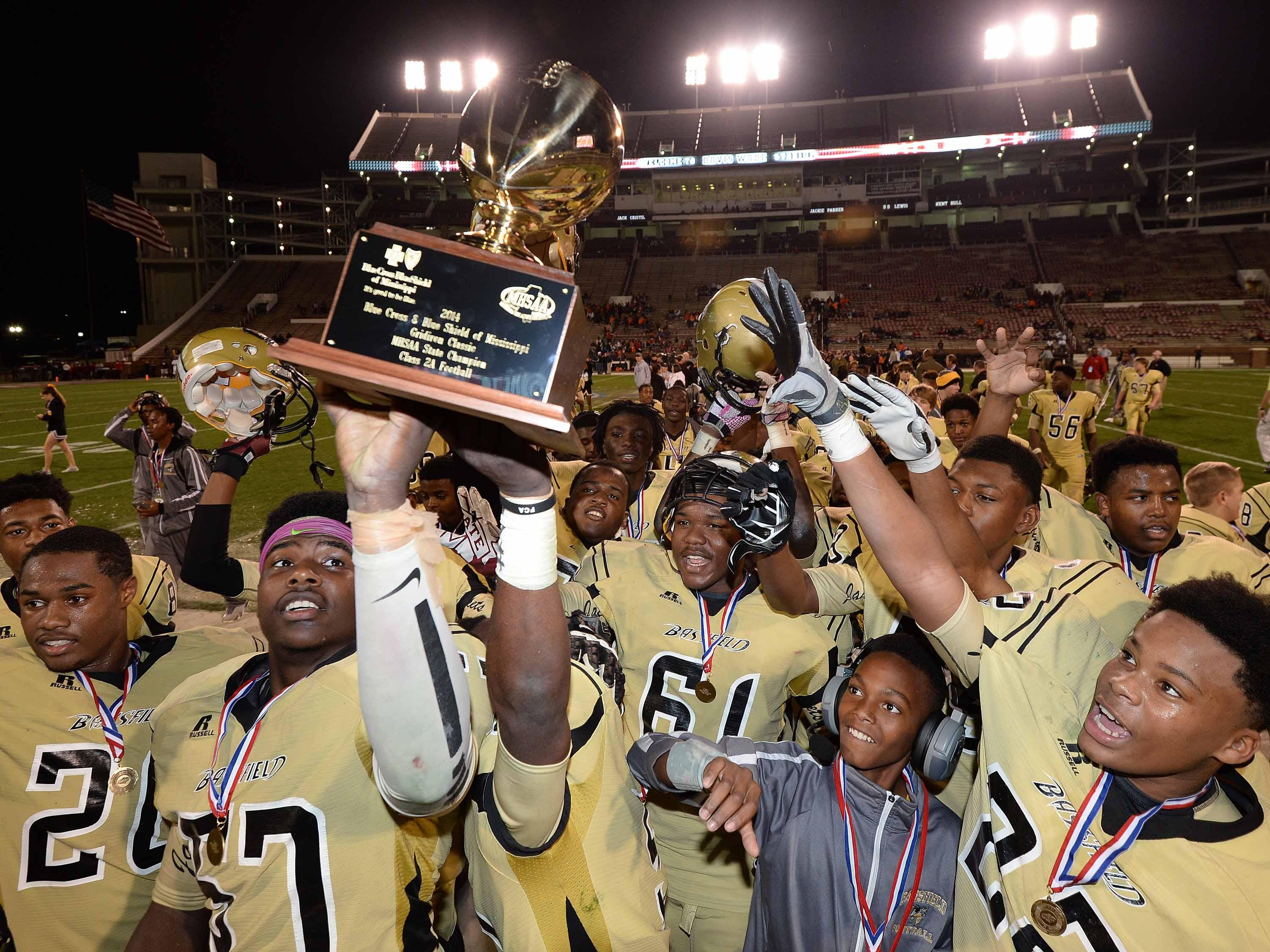 Bassfield has won three consecutive Class 2A State Championships.