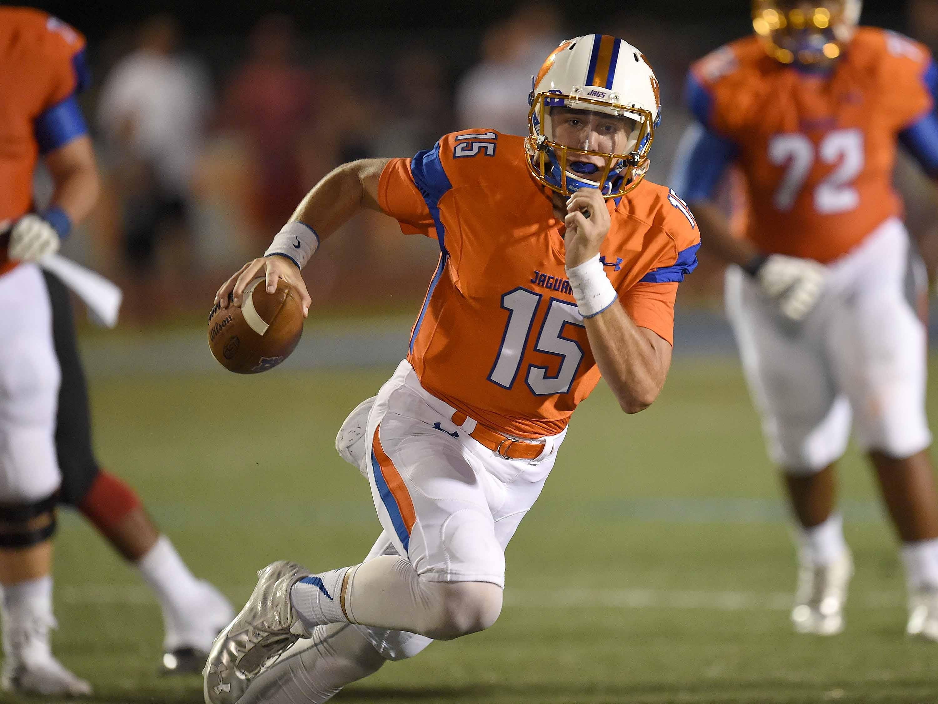 Quarterback Jack Walker and the Madison Central Jaguars hit the road Friday to take on the Oxford Chargers in a battle of Top 10 teams.