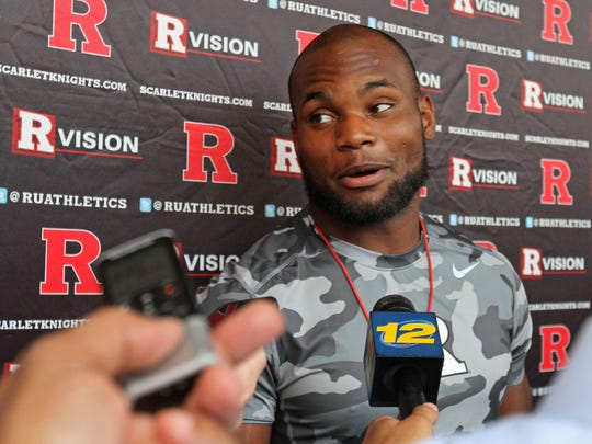 Wide receiver Leonte Carroo is suspended indefinitely from the Rutgers program.