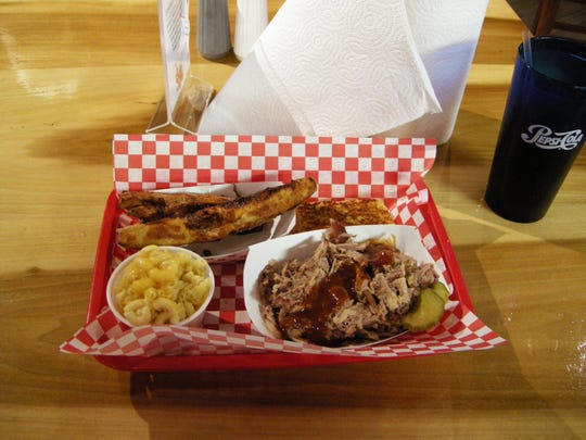 Moe's Original BBQ in Tahoe City serves inexpensive comfort food with a view of the lake.