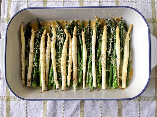 Green or white, asparagus is a rite of spring