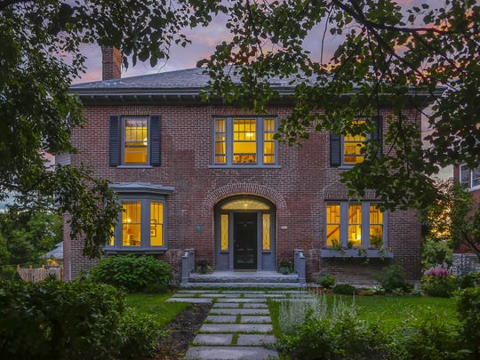This Burlington house at 291 South Union St., is part of the upcoming tour. It is owned by Stuart and Karina Warshaw.