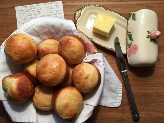 My Aunt Edith's dinner rolls, a no-fuss family favorite