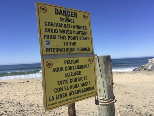 Mexico-US-Sewage