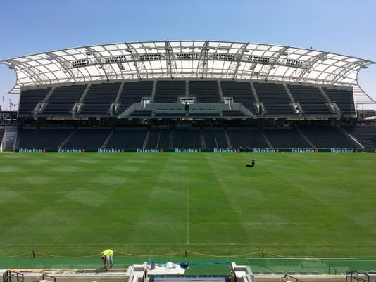 Lafcs Downtown Stadium Sets New Benchmark For Us Soccer