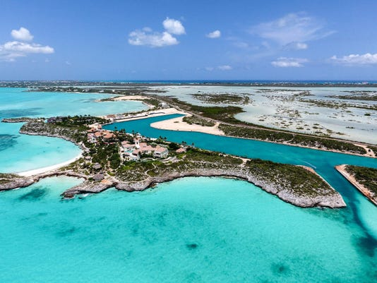 Prince's island retreat in Turks and Caicos is now up for sale