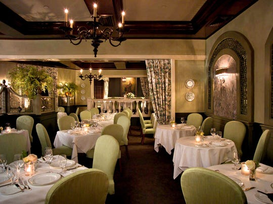The Great Room is the main dining room at the Bernards Inn.