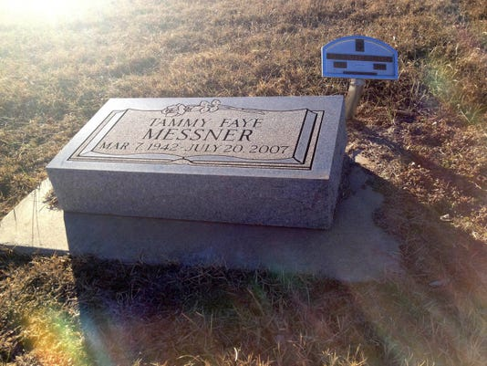 To Kansas grave's visitors, Tammy Faye's legacy is more than cosmetic