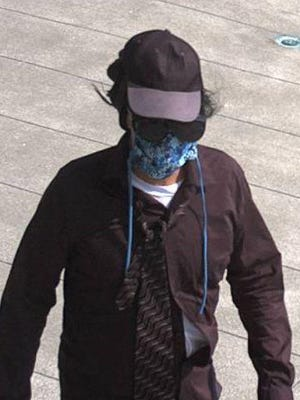 Akron police released photos of a suspect in a bank robbery on Tuesday, July 7, 2020, at Highland Square.