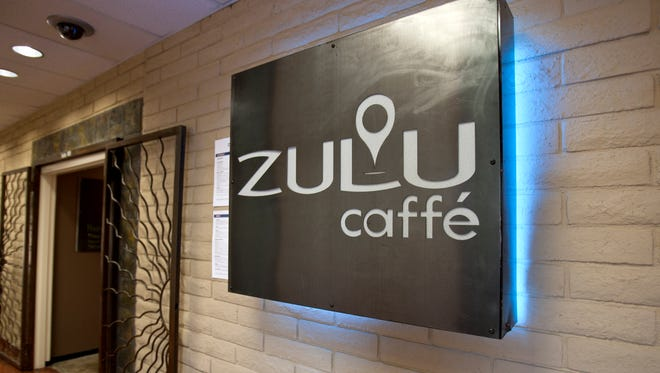 Zulu Caffe at the Scottsdale Airport.