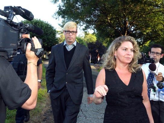Christopher Schraufnagel leaves New Castle Town court