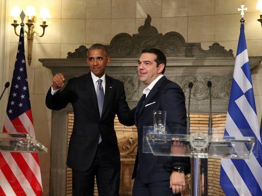 AP GREECE OBAMA I GRC
