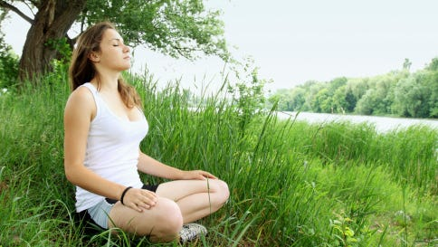 Meditation clears the mind, eases tension and can reduce health problems.