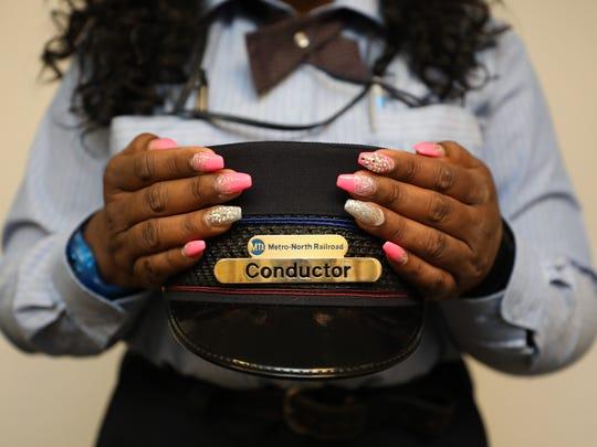 CeCee Grant-Briggs, a Metro-North conductor for 19