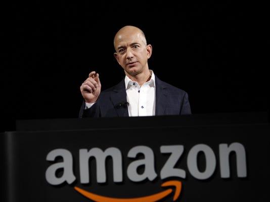 Usa Today Tech Person Of The Quarter Jeff Bezos