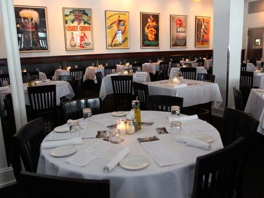 The dining room of Centro, which Business Insider named as the best restaurant in Iowa.