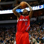 Los Angeles Clippers guard Stephen Jackson (1) has been waived by the team.