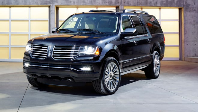 Lincoln is launching a new 2015 Navigator, its big SUV