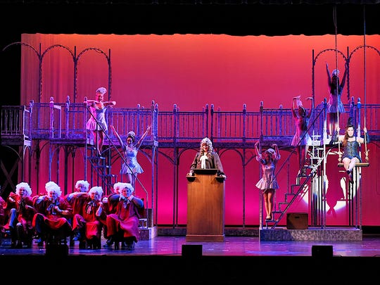 "The GREAT Theatre Co. rehearsal Thursday, Sept. 8 for their production of  ""Ragtime"" at the Paramount Theatre."