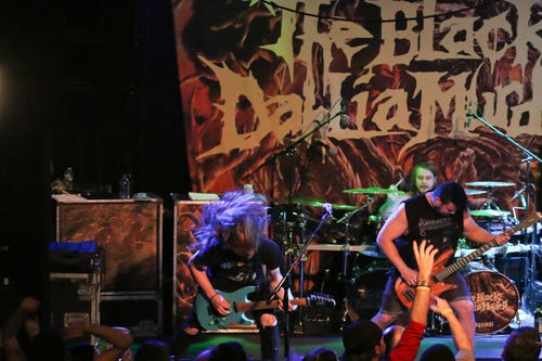 The Black Dahlia Murder performs at Vinyl Music Hall