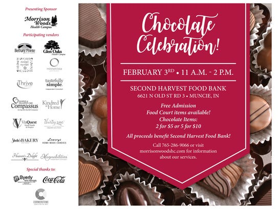Muncie Chocolate Celebration will be Feb. 3 at Second