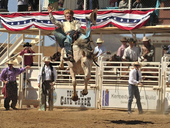 3/17: Cave Creek Rodeo Days Parade   Cave Creek will