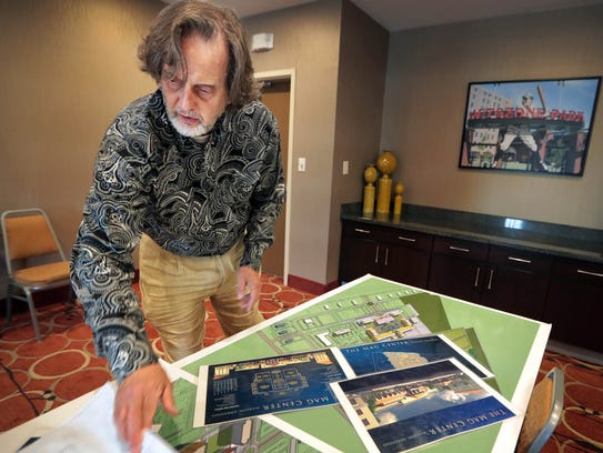 Developer Kenny Farrell pulls out ambitious plans for
