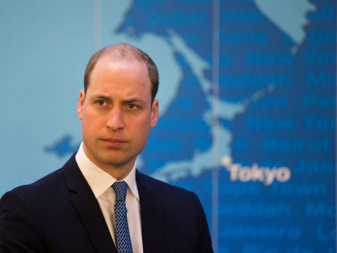 Notice anything different about Prince William's hair?