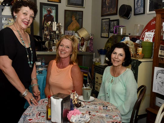 Wanda Juneau welcomes customers to her award winning Back in Time Restaurant located on Landry Street in the heart of downtown Opelousas.