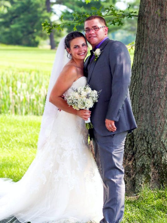 Megan Bethas and Chris Bevenour were married on June 20, 2015 in Hanover, where the couple now resides.