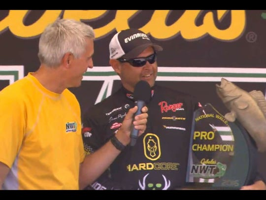 Winning the Cabela's National Tour Championship has