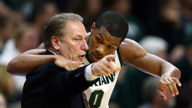 MSU coach Tom Izzo lost two transfers this off-season, including forward Marvin Clark Jr.